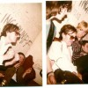 Amsterdam Milky Way January 2nd 1981 a tired and emotional Richard Strange, with  Bea de Visser  and Dave Winthrop