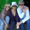 Anita Pallenberg, Nadja Romain (producer) and Richard Strange