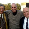 RS with Philip Jackson and Brian Cox . Theatre of Dreams 2011