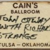 Richard Strange Tulsa 1980