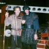 Richard Strange and Kevin Costner in Robin Hood - Prince of Thieves