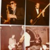 clockwise from top left. Dave Winthrop Peter O'Sullivan, Richard Strange and Angus McLean